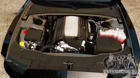 Dodge Charger RT Max Police 2011 [ELS] для GTA 4 вид сверху