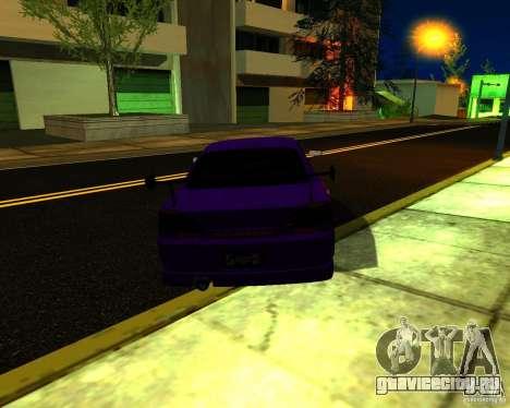 Nissan Silvia C-West для GTA San Andreas вид справа