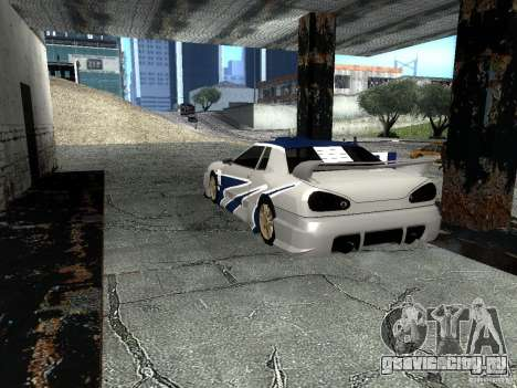 Винил с BMW M3 GTR в Most Wanted для GTA San Andreas вид сзади слева