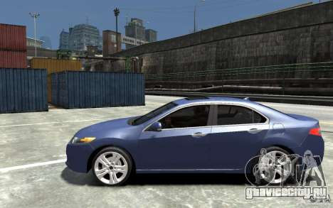Acura TSX 2011 для GTA 4 вид слева