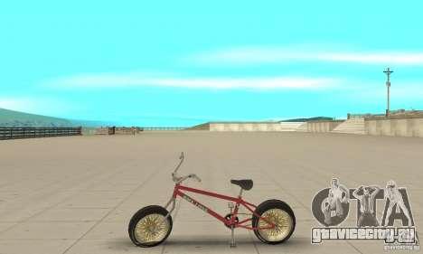 BMX Long 2 для GTA San Andreas вид слева