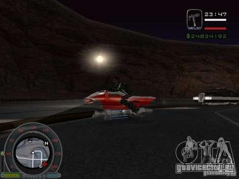 NEW NRG-500 для GTA San Andreas вид сзади слева