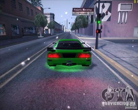 Tuned Turismo для GTA San Andreas вид сзади слева