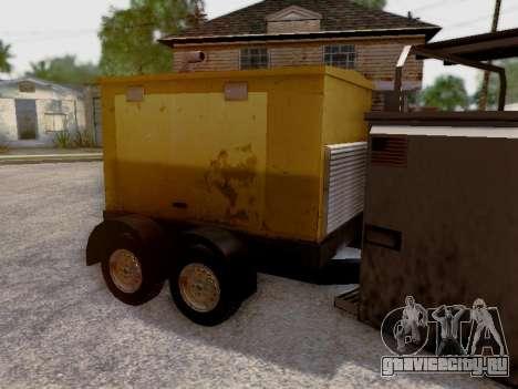 Trailer Generator для GTA San Andreas вид сверху