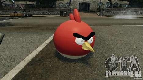 Angry Bird Ped для GTA 4