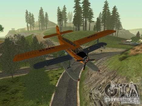 АН-2В для GTA San Andreas вид изнутри