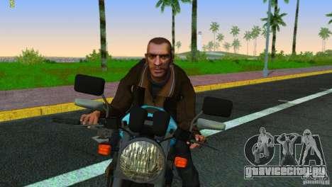 PCJ 600 для GTA Vice City вид сзади