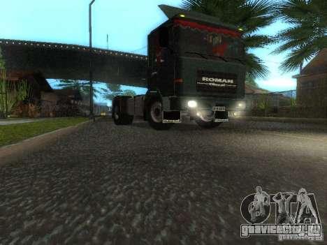 Roman R 10215 FS для GTA San Andreas вид слева