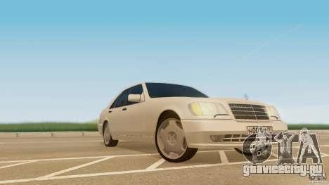 Mercedes-Benz 500SE для GTA San Andreas