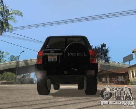 Nissan Patrol 2005 Stock для GTA San Andreas вид справа