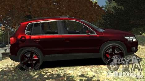 Volkswagen Tiguan 2012 для GTA 4 вид слева
