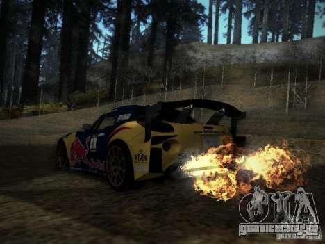 Pontiac Solstice Redbull Drift v2 для GTA San Andreas вид сзади слева