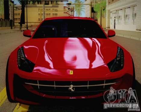 Ferrari FF Sport 2011 для GTA San Andreas вид справа
