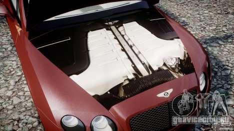 Bentley Continental SS v2.1 для GTA 4 вид изнутри