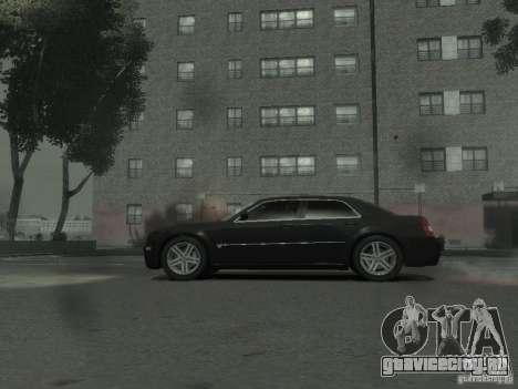Chrysler 300C для GTA 4 вид сзади слева