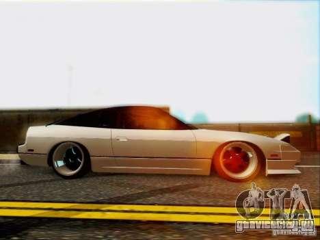 Nissan 240SX для GTA San Andreas вид изнутри