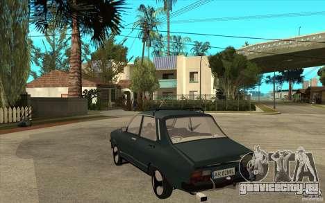 Dacia 1300 Cocalaro Tzaraneasca для GTA San Andreas вид сзади слева