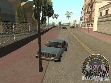Спидометр Lamborghini для GTA San Andreas третий скриншот