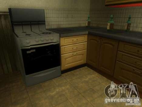 Новый Дом CJ для GTA San Andreas шестой скриншот