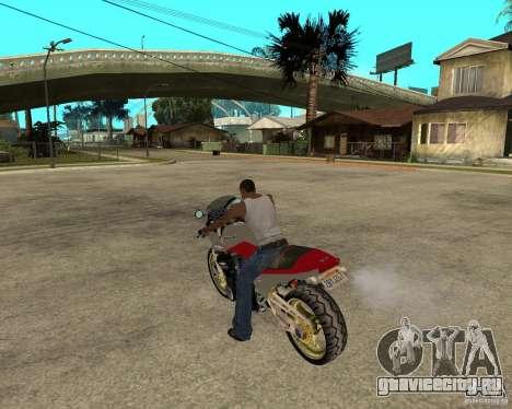 Kawasaki Ninja Tuning для GTA San Andreas вид слева