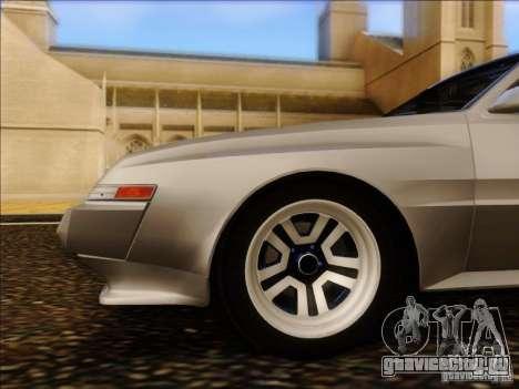Mitsubishi Starion ESI-R 1986 для GTA San Andreas вид сзади