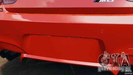 BMW M6 F13 2013 v1.0 для GTA 4 салон
