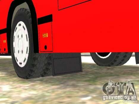 МАЗ 5295 v2.0 финал для GTA 4 вид снизу