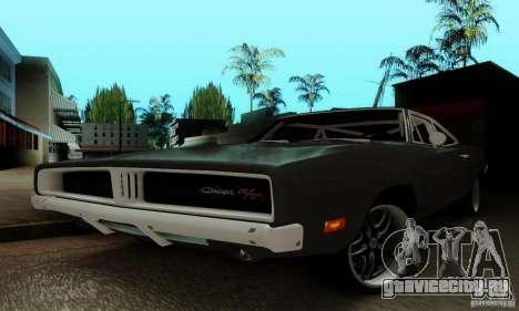 Dodge Charger RT для GTA San Andreas вид сверху