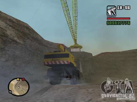 КамАЗ UDS для GTA San Andreas вид справа