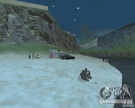 Оживлённый пляж Palomino Creek для GTA San Andreas