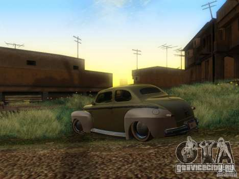 Ford Coupe 1946 Mild Custom для GTA San Andreas вид слева