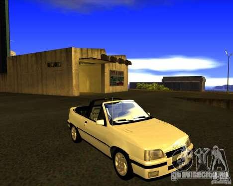 Chevrolet Kadett GSI 2.0 Conversivel (1991-1995) для GTA San Andreas вид сзади