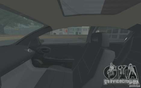 Saturn Ion Quad Coupe для GTA San Andreas вид сверху