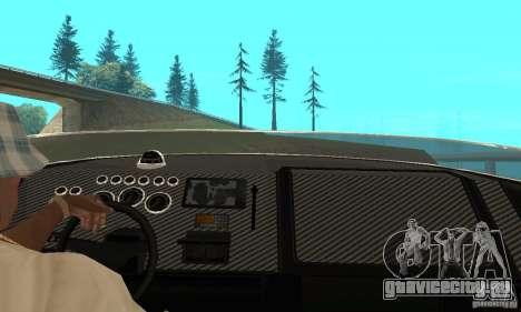 GTAIV TBOGT Blade для GTA San Andreas вид сзади