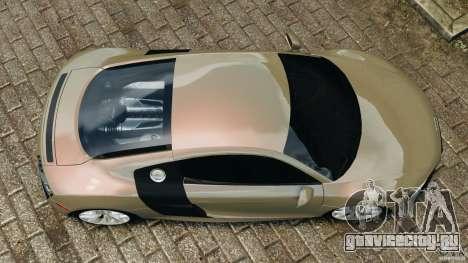 Audi R8 V10 2010 для GTA 4 вид справа