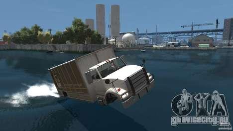 Benson boat для GTA 4