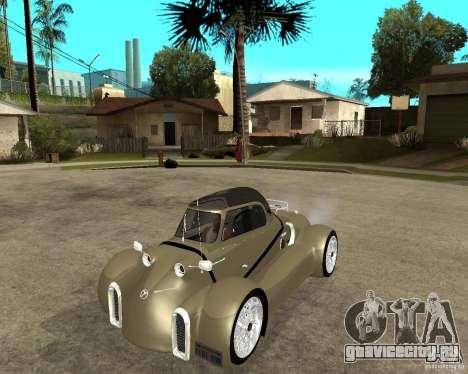 Messerschmitt GT500 Tiger Hard tuned для GTA San Andreas