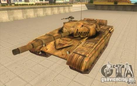 Танк Т-72 для GTA San Andreas