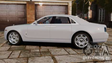 Rolls-Royce Ghost 2012 для GTA 4 вид слева