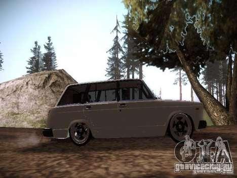 Ваз 2104 Пневмо для GTA San Andreas вид сзади