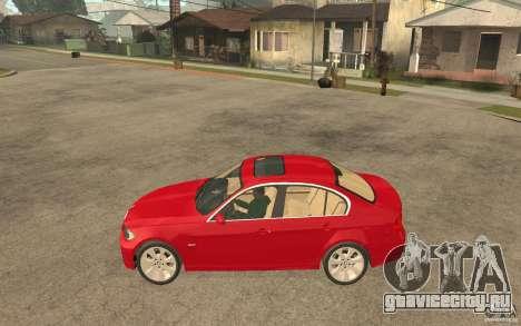 BMW 330i E90 v.2.0 для GTA San Andreas вид слева