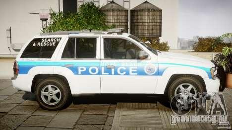 Chevrolet Trailblazer Police V1.5PD [ELS] для GTA 4 вид изнутри