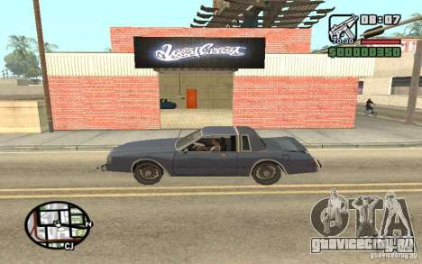 West Coast Customs Покрасочная для GTA San Andreas второй скриншот