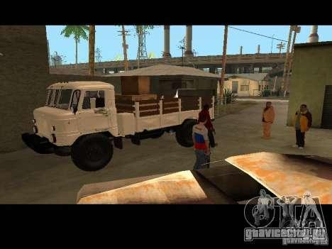ГАЗ 66 Парадный для GTA San Andreas вид сзади