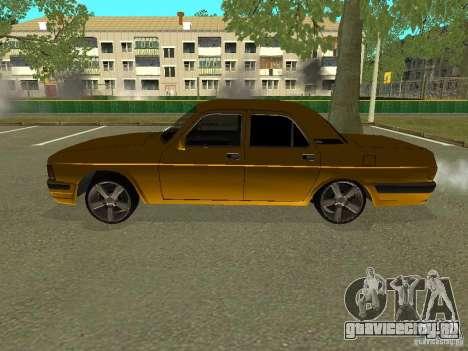 ГАЗ Волга 3102 для GTA San Andreas вид слева