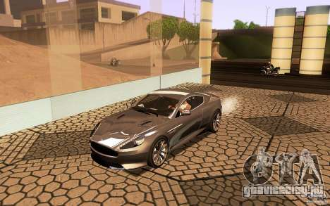 Aston Martin Virage V1.0 для GTA San Andreas