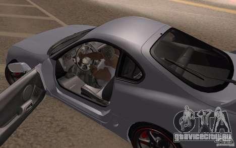 Toyota Supra Mark IV для GTA San Andreas вид сзади