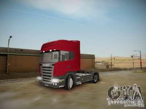 Scania R580 Topline для GTA San Andreas