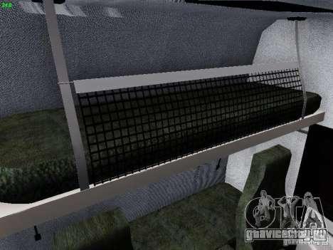 Scania R580 V8 Topline для GTA San Andreas вид снизу