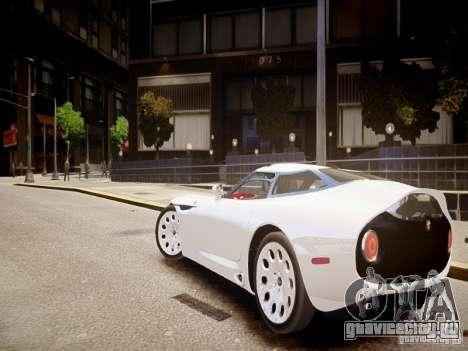 Alfa Romeo TZ3 Stradale Zagato для GTA 4 вид сзади слева
